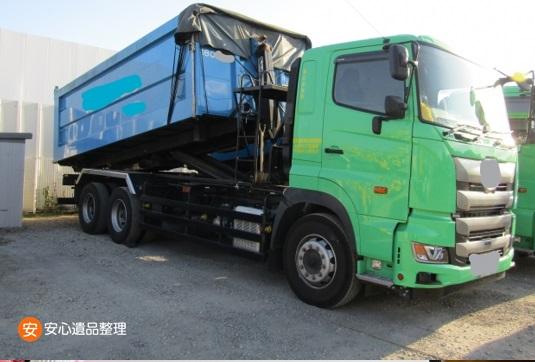 産廃業者のトラック